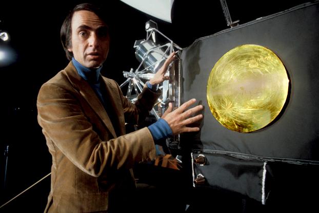 Sagan e a sonda Voyager