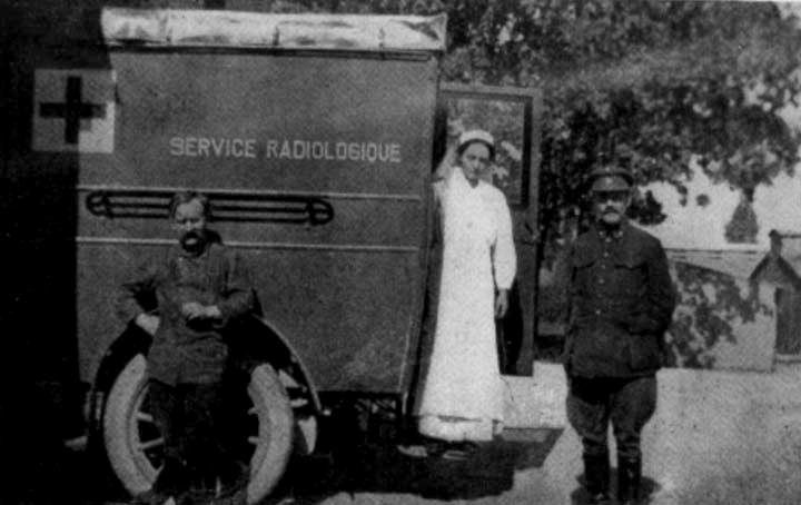 Marie Curie na Segunda Guerra