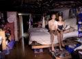 casal no esgoto de Las Vegas