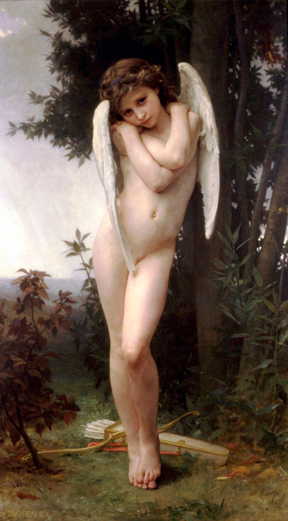 Cupido Molhado, de William Adolphe Bouguereau