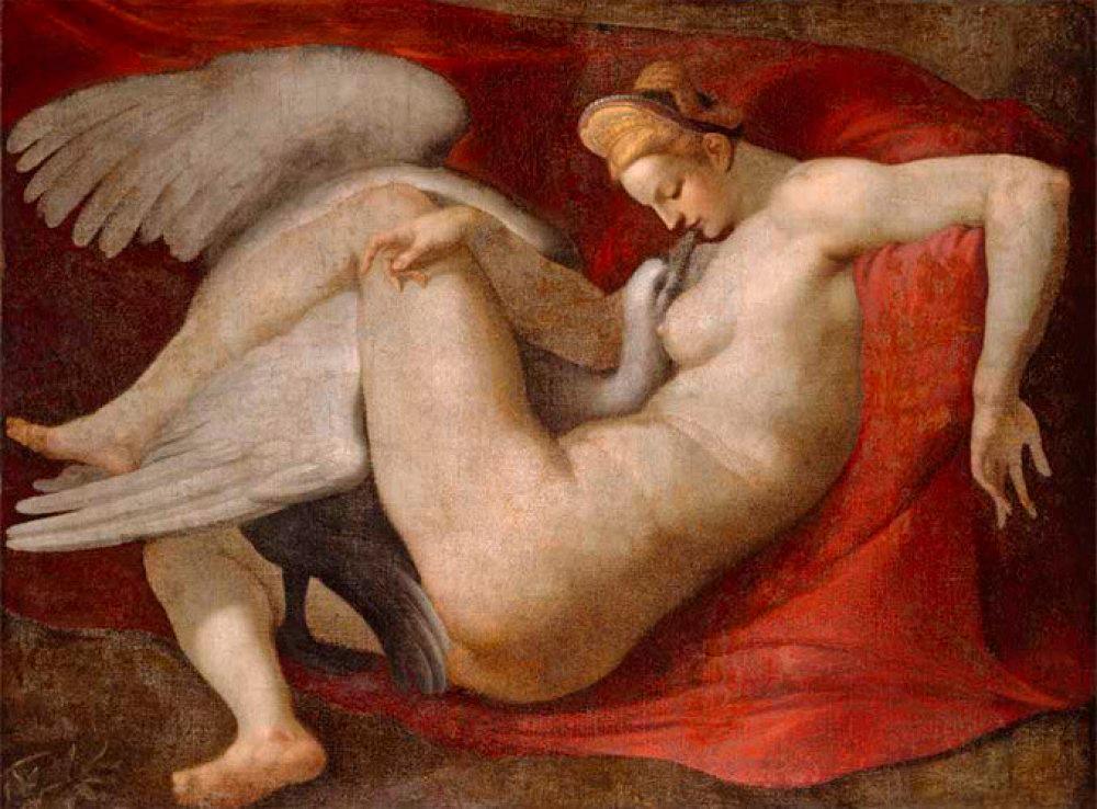Leda e o Cisne, de Michelangelo de Ludovico