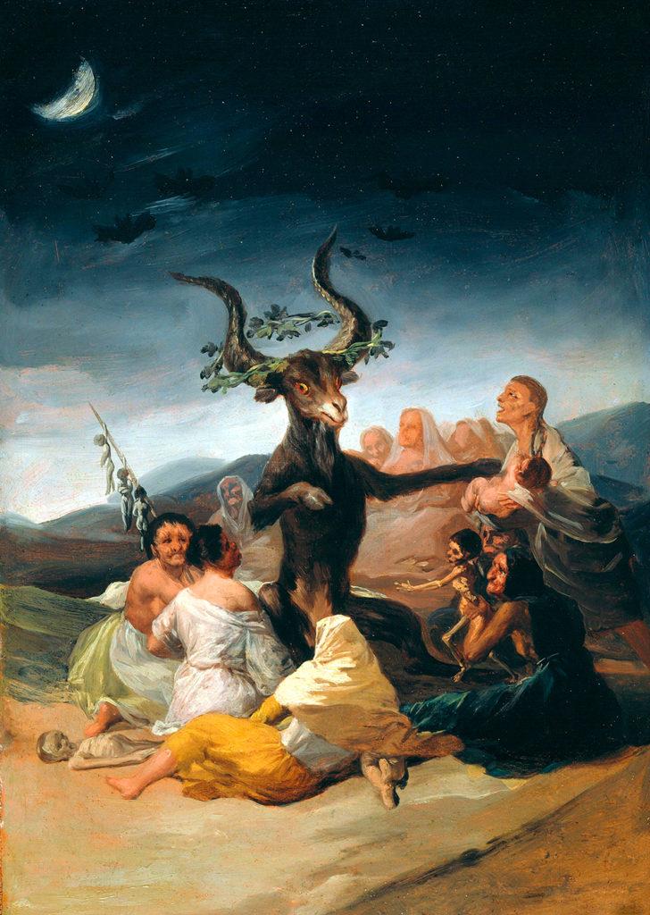 O Grande Bode, de Francisco de Goya