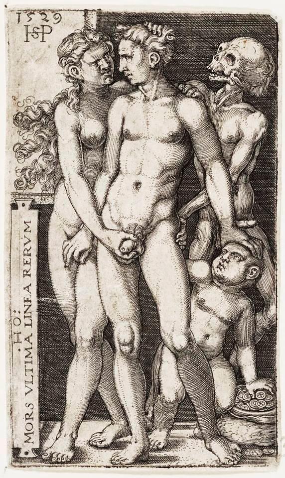O par indecente, de Hans Sebald Beham