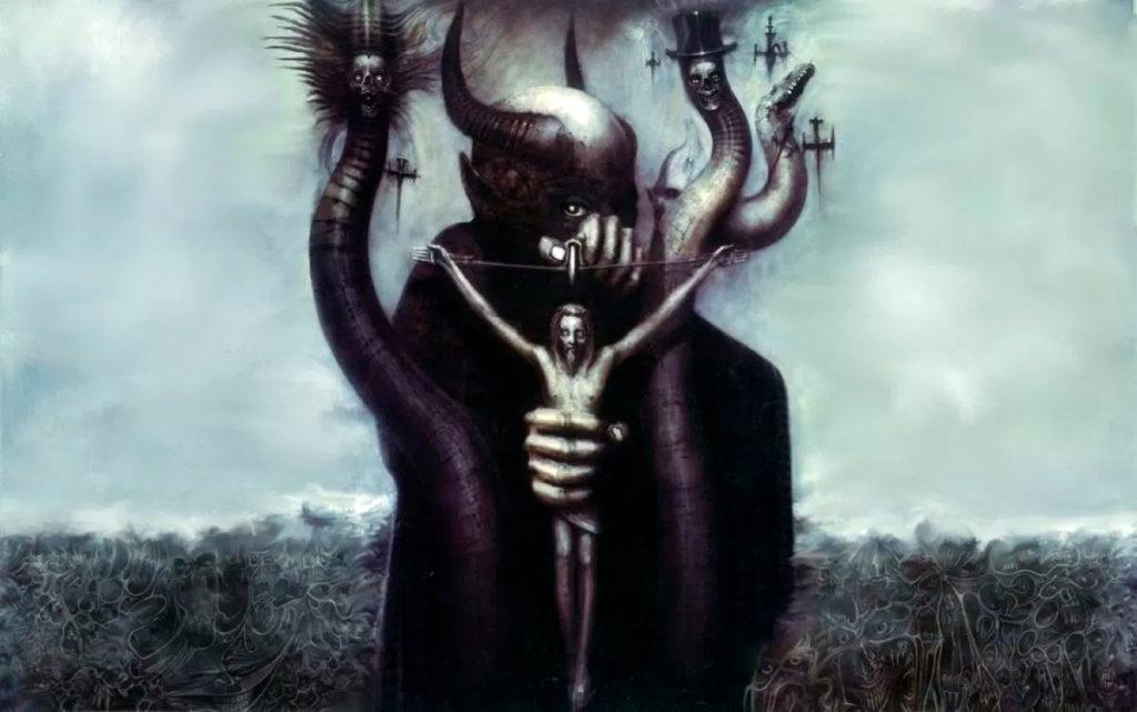 Satan I, de HR Giger