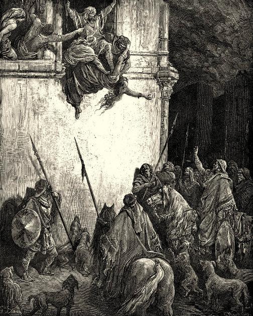 Jezebel atirada aos cães