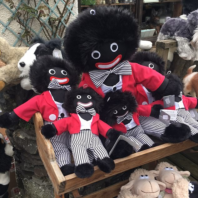 The dolls available at the Hawkshead shop