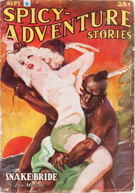 Mandingo in Spicy magazine (1937)