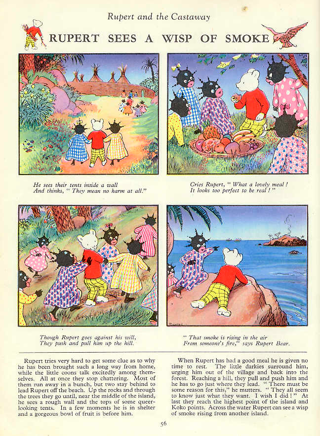 Rupert and Pickaninnies