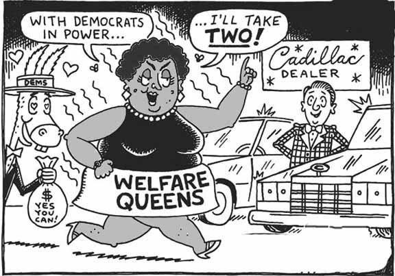 Welfare Queen comic
