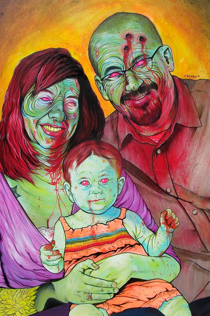 Família Zumbi, de Grayson Castro