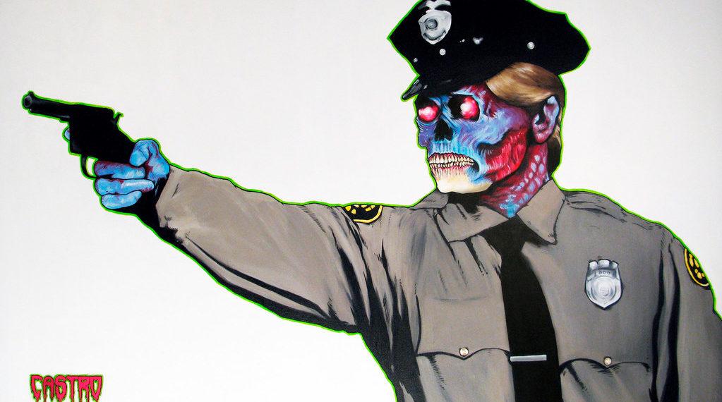 Policial Zumbi, de Grayson Castro