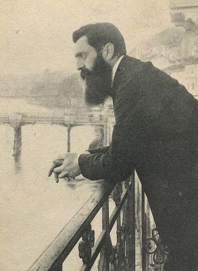 Theodor Herzel em Basel 1900