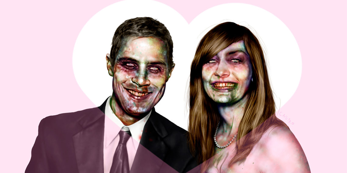Zombie Rachel Aaron, de Grayson Castro