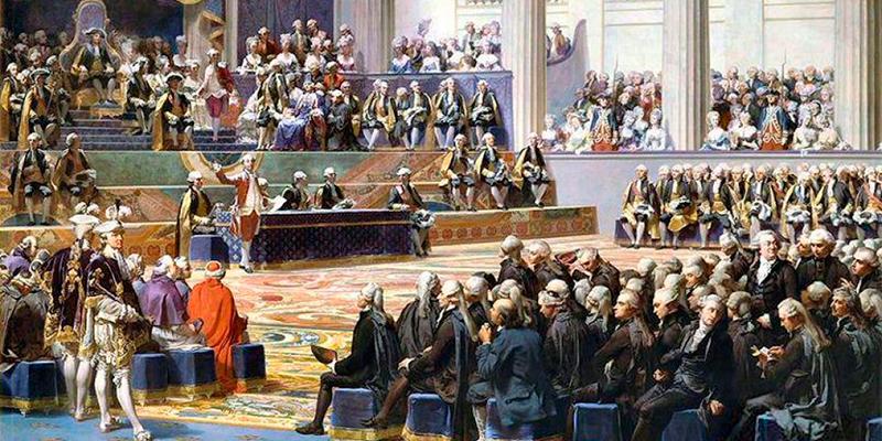 Assembleia francesa em 1789