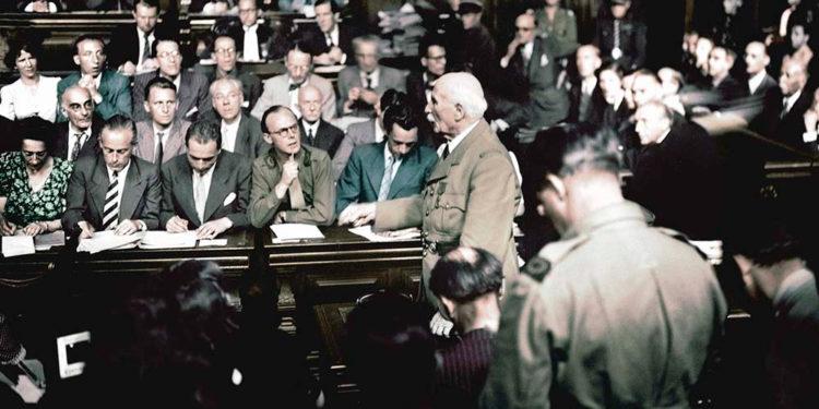 Le procès Pétain