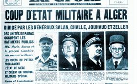 Coup d'etat militaire a alger