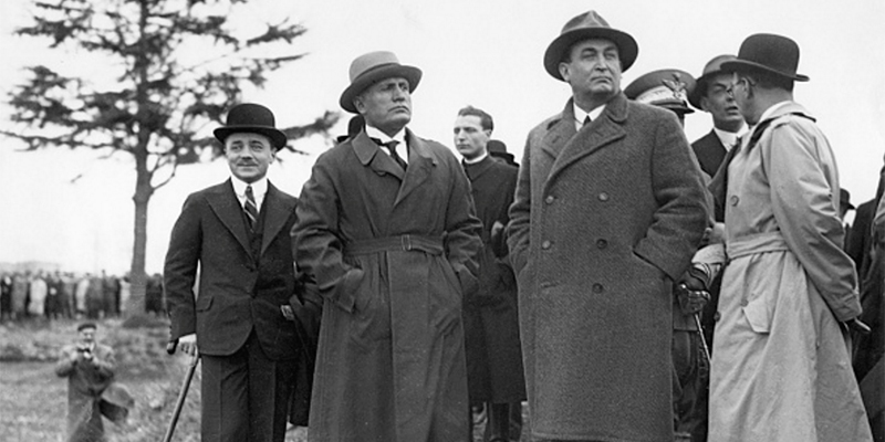 Dolfuss e Mussolini