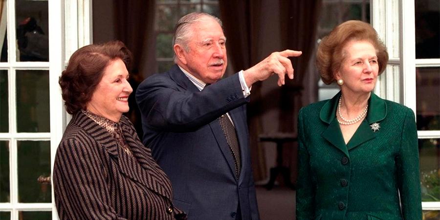 Pinochet e Thatcher