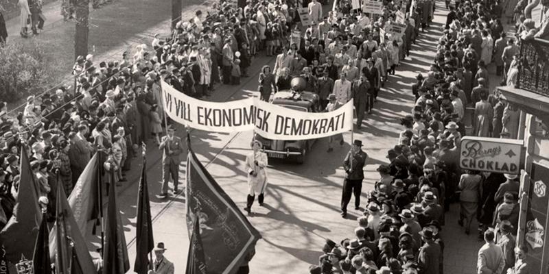 Vi vill ekonomisk demokrati