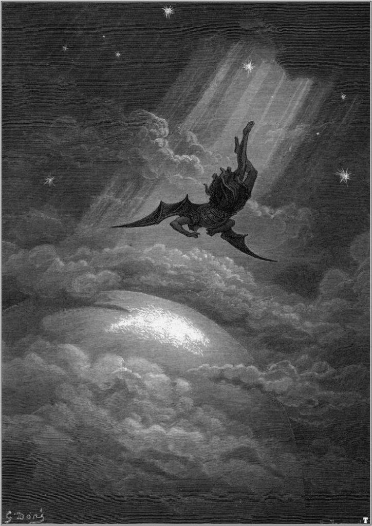 Diabo de Gustave Dore