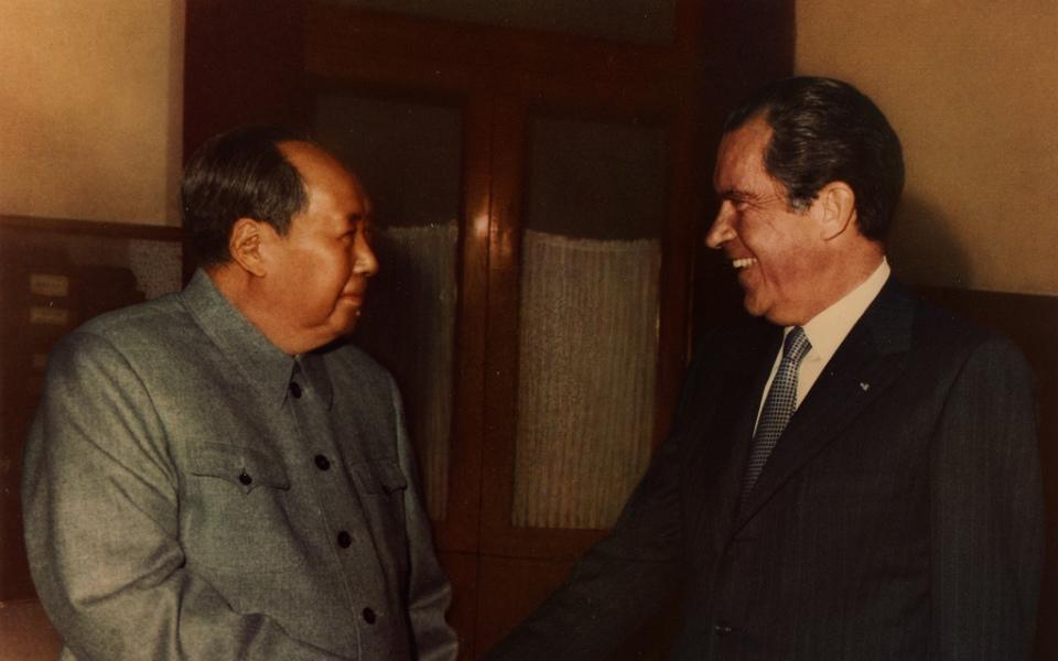 Mao e Nixon